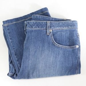 St. John Yellow Label Straight Leg Jeans